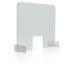 MAGNETOP. Hygienewand 850x700mm 1102785 Acrylglas