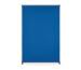MAGNETOP. Präsentationswand Filz 1103803 1200x1800mm blau