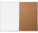 MAGNETOP. Kombiboard Kork/Whiteboard 1240370 900x600mm