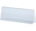 MAGNETOP. Tischnamenschilder Acryl 43130 transparent A6