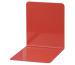 MAUL Bücherstützen 14x12x14cm 3506225 rot, Metall 2 Stück