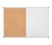 MAUL Combiboard MAULstandard 6447884 90x120cm Kork/WB, SB-Verp.