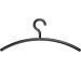 MAUL Kleiderbügel Acryl 9451590 schwarz 5 Stück