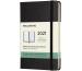 MOLESKINE Wochen-Notizkalender P/A6 606419 2021 1W/S,liniert schwarz HC