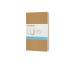 MOLESKINE Notizheft 14x1,2x9cm 719244 gepunktet, braun, 64 S. 3 Stk
