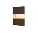 MOLESKINE Cahier XL, 3x, Liniert 855303 Kaffeebraun 3 Stück