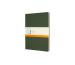 MOLESKINE Cahier XL, 3x, Liniert 855334 Myrtengrün 3 Stück