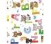 NEUTRAL Einfasspapier 40284 Kitty ABC auf weiss 3mx50cm