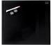 NOBO Glas Magnet Tafel 1903950 30x30cm schwarz