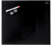 NOBO Glas Magnet Tafel 1903951 45x45cm schwarz