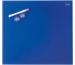 NOBO Glas Magnet Tafel 1903953 45x45cm blau