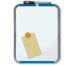 NOBO Magnetic Board QB05442CD 28x36cm silber