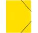 PAGNA Gummizugmappe A4 21613-04 gelb PP 3 Einschlagklappen