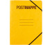 PAGNA Postmappe A4 24005-05 Pressspan,Eckspanngummi gelb