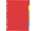 PAGNA Register Karton A4 31061-20 farbig 6-teilig
