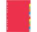 PAGNA Register Karton A4 31121-20 farbig 12-teilig