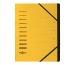 PAGNA Ordnungsmappe 40058-05 gelb 7-teilig