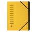 PAGNA Ordnungsmappe 40059-05 gelb 12-teilig