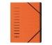 PAGNA Ordnungsmappe 40059-12 orange 12-teilig