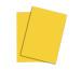 PAPYRUS Rainbow Papier FSC A4 88042388 intensivgelb, 80g 500 Blatt
