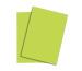 PAPYRUS Rainbow Papier FSC A4 88043183 80g, neongrün 100 Blatt