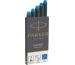 PARKER Tintenpatrone Quink Z 44 1950383 königsblau, abwaschbar 5 Stück