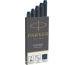 PARKER Tintenpatrone Quink Z 44 1950385 schwarz-blau 5 Stück