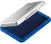 PELIKAN Metall-Stempelkissen blau 331165 blau, Gr.3 7x5cm