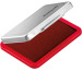 PELIKAN Metall-Stempelkissen rot 331181 Gr.3 7x5cm