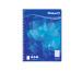 PELIKAN Spiralblock A5 7100120 blau 80 Blatt liniert