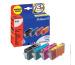 PELIKAN Tinten Bundle P01 CMYBK BCI-3e zu Canon BJC3000 27/13ml