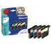 PELIKAN Valuepack P17 BKCMY LC-1100 zu Brother MFC-490C 13/8ml