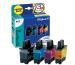 PELIKAN Tinten Bundle P07 CMYBK LC-900 zu Brother DCP-110C 20/14ml