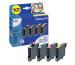 PELIKAN Tinten Bundle P06 CYMBK T061140 zu Epson Stylus D68 9ml