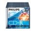 PHILIPS CD-R Slim 80MIN/700MB CR7D5NS10 52x foil 10 Pcs