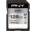 PNY Elite SDXC Card R100MB/s 128GB PSD128U11