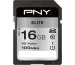PNY Elite SDHC Card R100MB/s 16GB PSD16GU11