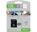 PNY micro-SDXC Elite 128GB PSDU128V1 UHS-I U1/A1(V10)&SD adapter