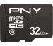 PNY Performance Plus 32GB PSDU32G10 MicroSD HC Card Cl.10
