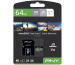 PNY micro-SDXC Pro Elite 64GB PSDU64GV3 UHS-I U3 A1 & adapter