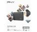 PNY Elite USB 3.1 Gen1 480GB PSD1CS105 Portable SSD dark-grey