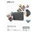 PNY Elite USB 3.1 Gen1 960GB PSD1CS105 Portable SSD dark-grey