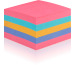 POST-IT Super Sticky Würfel 76x76mm 2028SSRBWCmulticolor 440 Blatt