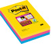 POST-IT SuperSticky Rio 152x101mm 4690SS3RI 3-farbig, liniert 3x90 Blatt
