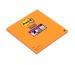 POST-IT Block Super Sticky 200x200mm 5858-SSG orange, 2x45 Blatt, kariert