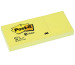 POST-IT Haftnotizen Recycling 51x38mm 653-1 gelb/100 Blatt 3 Stück