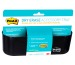 POST-IT Dry Erase Zubehör Halter DEFTRAYEU schwarz, für 4 Marker