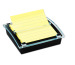 POST-IT SuperSticky Notes 145x150x50mm DS440SSCY Dispenser gelb/trans. 90 Blatt