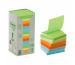 POST-IT Green Z-Notes 76x76mm R330-1RPT Recycling, 100 Blatt 16 Stück