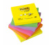 POST-IT Z-Notes refill Rainbow 76x76mm R330NRB 6-farbig neon/6x100 Blatt